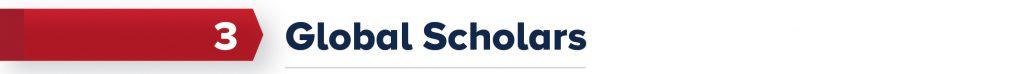 3. Global Scholars