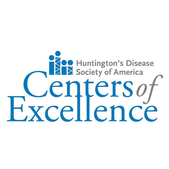 Huntington's Disease Society of America Center of Excellence logo