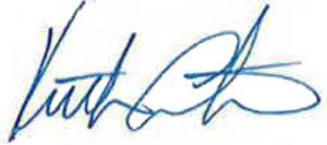 Keith Carter signature