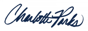 Charlotte Parks signature