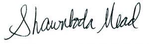 Shawnboda Mead signature
