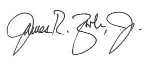 James Zook signature